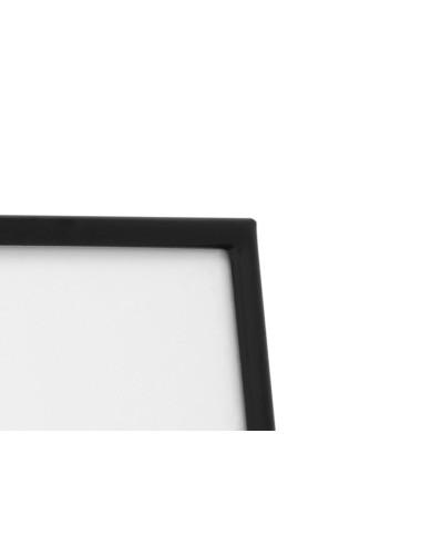 Fotolijst Sweet Memory, mat zwart metaal 20x20cm
