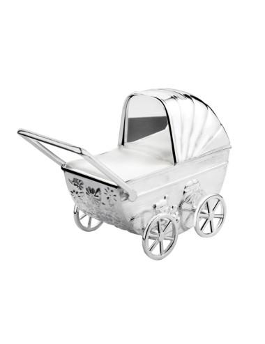 Spaarpot Kinderwagen met graveerplaatje